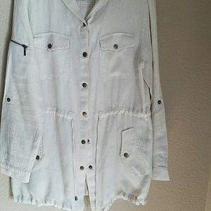 Lite linen jacket